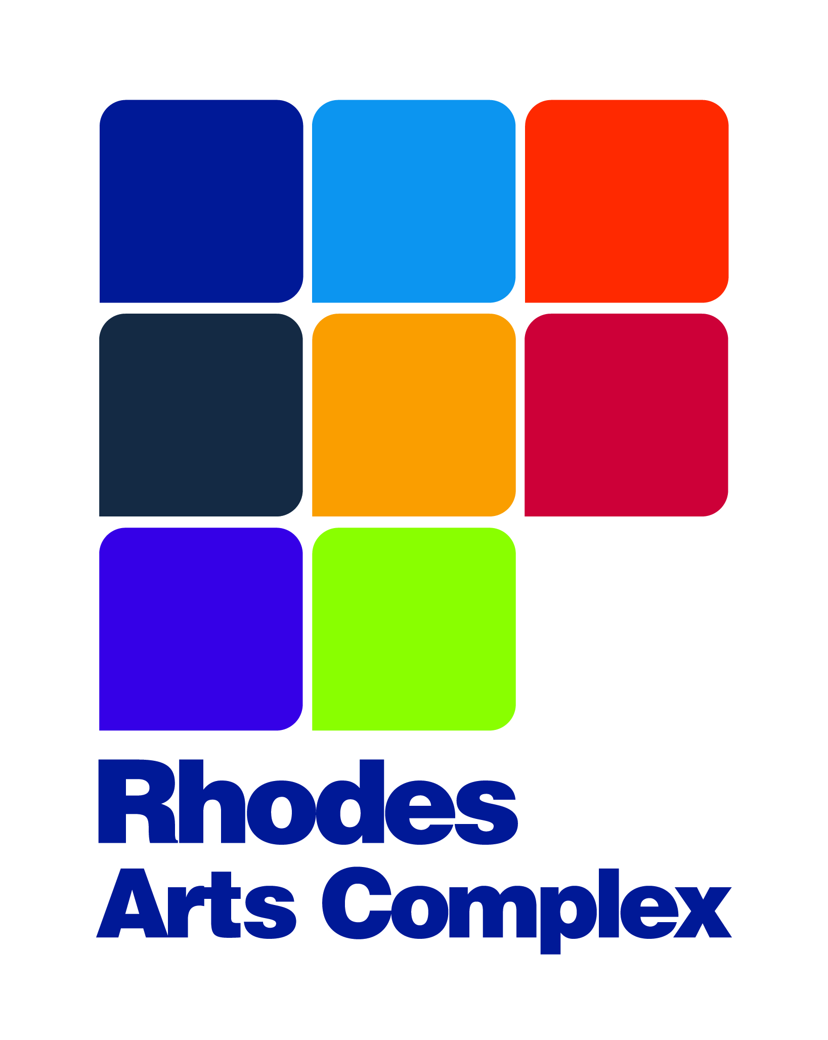 Rhodes Arts Complex map